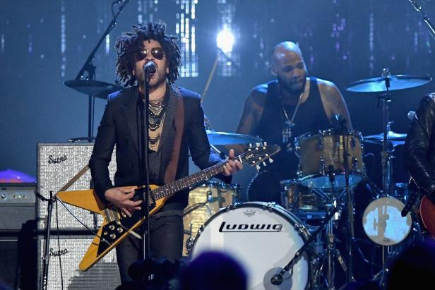 US-32ND-ANNUAL-ROCK-&-ROLL-HALL-OF-FAME-INDUCTION-CEREMONY---SHO