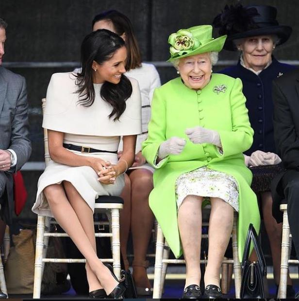 Herzogin Meghan mit Queen Elizabeth