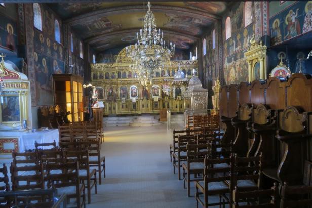Im Kloster Gerassimos auf Kefalonia sind die Gebeine des gleichnamigen Heiligen aufbewahrt