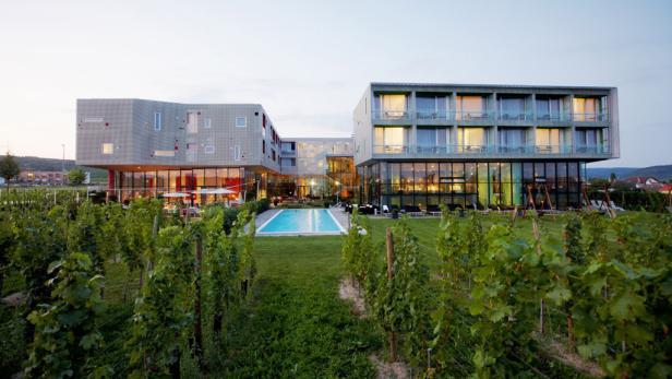 Die Spitzen-Köche des Restaurants Vineyard im Loisium Spa-Hotel: Stefan Mayr und Emanuel Peceny.
