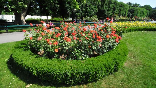 """""""Es wurde viel Geld in öffentliche Gärten investiert, aber auch die private Gartenkultur ist in Österreich hoch entwickelt."""" Elisabeth Plitzka, Gartenbuchautorin."""