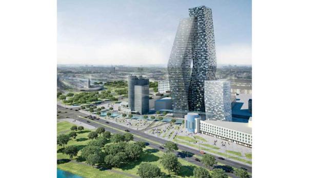 Am Wienerberg erfolgt in Kürze der Baustart für Bauphase 5 des Bürostandortes Euro Plaza.