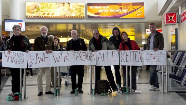 Grünes Licht: Nur das Ampelmännchen erinnert noch an den deutschen Arbeiter- und Bauernstaat