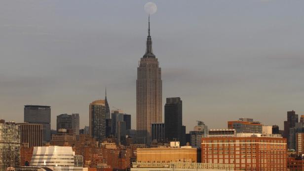 """Das Empire State Building: 1933 wurde das Hochhaus Kulisse des Kassenschlagers """"King Kong""""."""