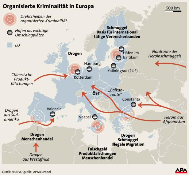 Europol zeichnet ein düsteres Bild