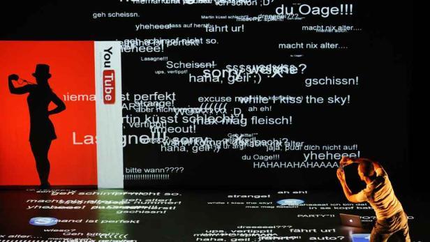 """Tänzer_innen in """"Virtual Insanity"""""""