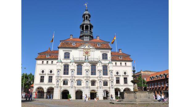 Westliche Altstadt von Lüneburg.