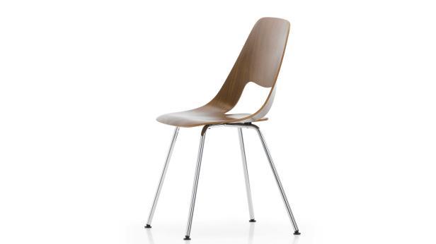 """""""Jill"""" nennt sich der Sperrholz-Stuhl, den Häberli für Vitra entworfen hat"""