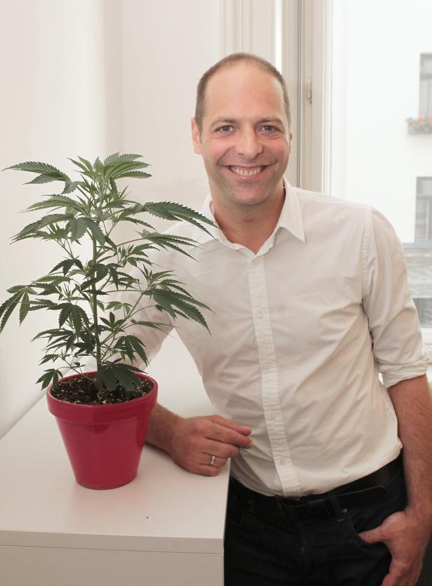 Hanfbauer Alexander Kristen will Cannabis entkriminalisieren