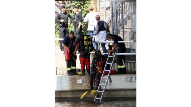 Makabere Suche: Nach Tagen fand die Wasserpolizei die Leichenteile.