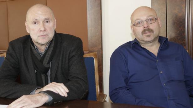 """Franz Vockner und Christian Oberschmied (SP): """"Das ist unerklärlich"""""""