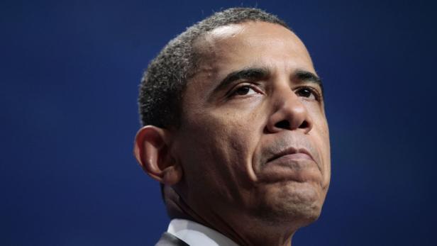 Demo von Tea-Party-Vertretern: Die rechtspopulistischen Republikaner sind gegen jede Steuererhöhung und verhöhnen Barack Obama