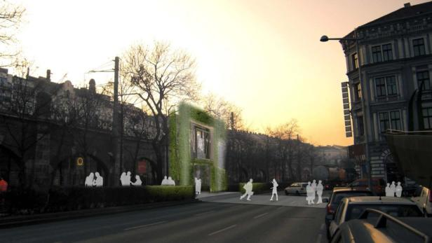 Kommt nicht: Der Nutzen der Fußgänger- und Radfahrerbrücke am Margaretengürtel wird angezweifelt.