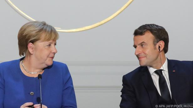 Merkel und Macron haben eine gemeinsames Konzept vorgelegt