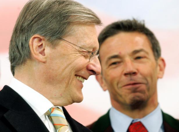 Wolfgang Schüssel und Jörg Haider