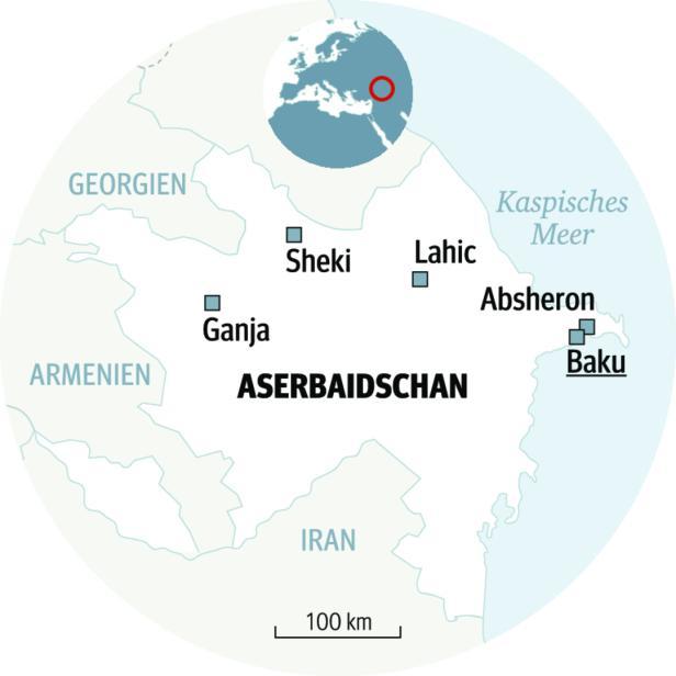 Aserbaidschan Zwischen Orient Und Moderne Kurier At