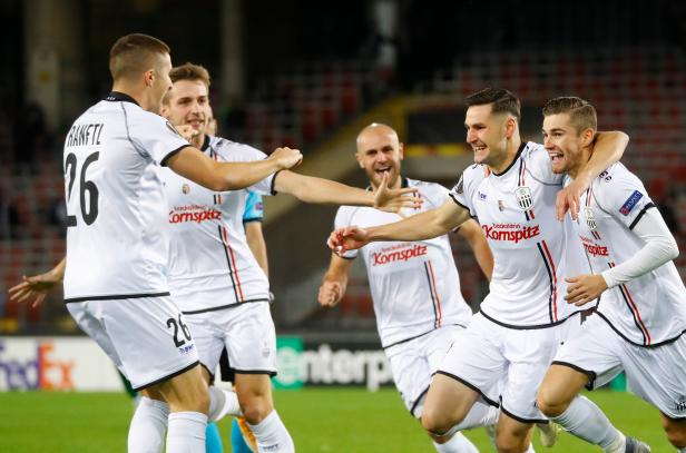 Europa League - Group J - LASK Linz v Ludogorets Razgrad