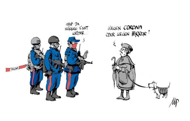 Karikatur peitsche zuckerbrot und Bismarcks Regierungsstil