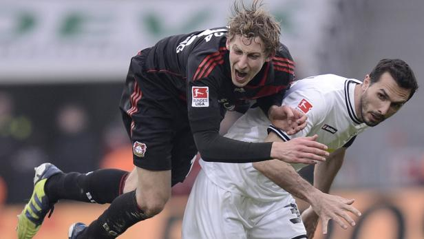 Stranzl (re.) und sein Team bleiben auf Champions-League-Kurs.