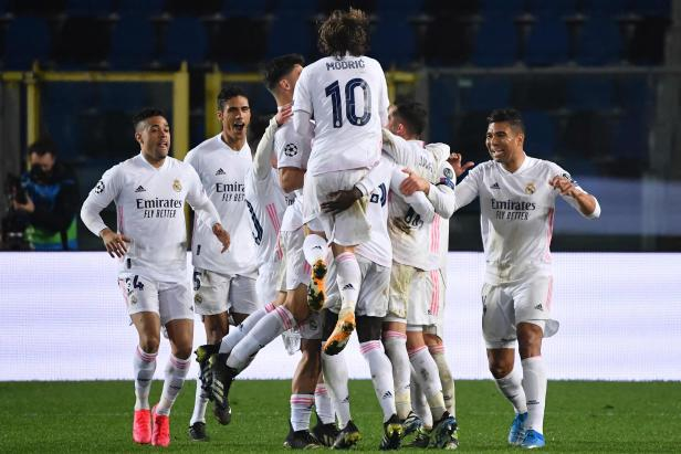 FBL-EUR-C1-ATALANTA-REAL MADRID