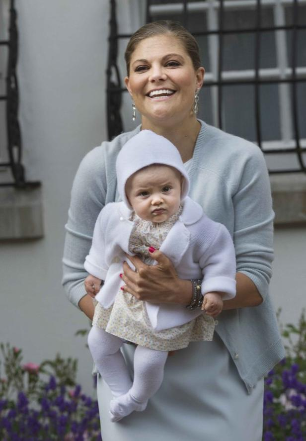 Celebrations of Swedish Crown Princess Victoria's