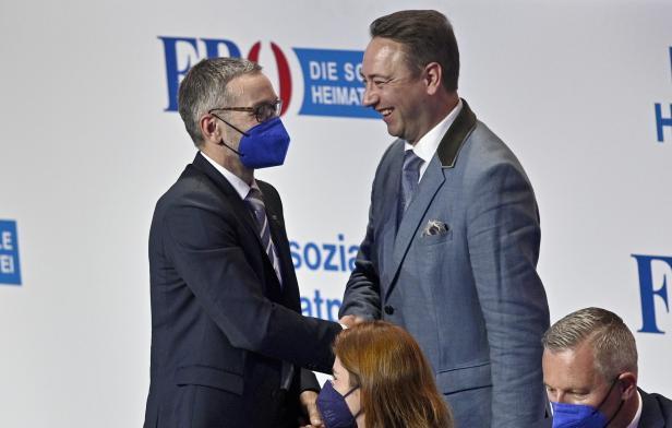FPÖ-AUSSERORDENTLICHER BUNDESPARTEITAG: KICKL / HAIMBUCHNER