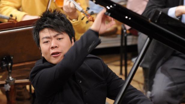 "Sogar bei ""Wetten dass...?"" auf der Bühne: Starpianist Lang Lang."