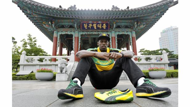 Usain Bolt ist der Mann, um den sich alles dreht bei der WM.