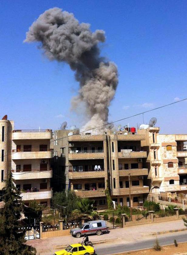 In Qamishli im Nordosten Syriens explodieren häufig Autobomben
