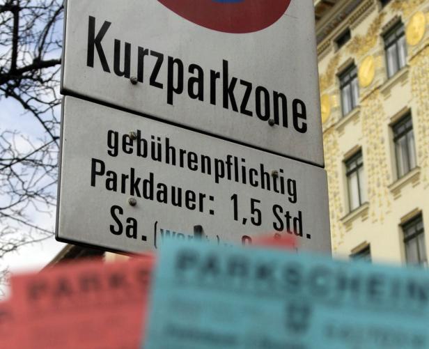 Eine Stunde Parken kostet ab kommenden Jänner 2,10 Euro