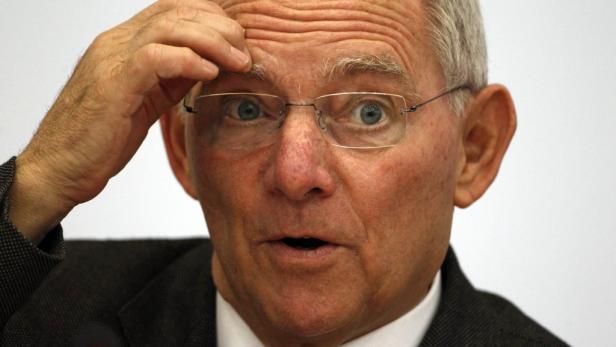 Sorgenfalten bei Finanzminister Schäuble