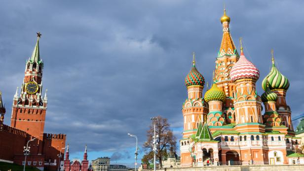 Moskau…