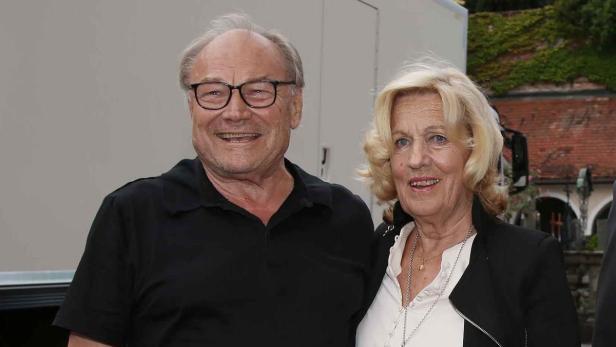 Klaus Maria Brandauer und Christine Vranitzky…