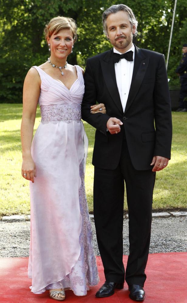 Norway's Princess Martha Louise and Ari Behn arriv