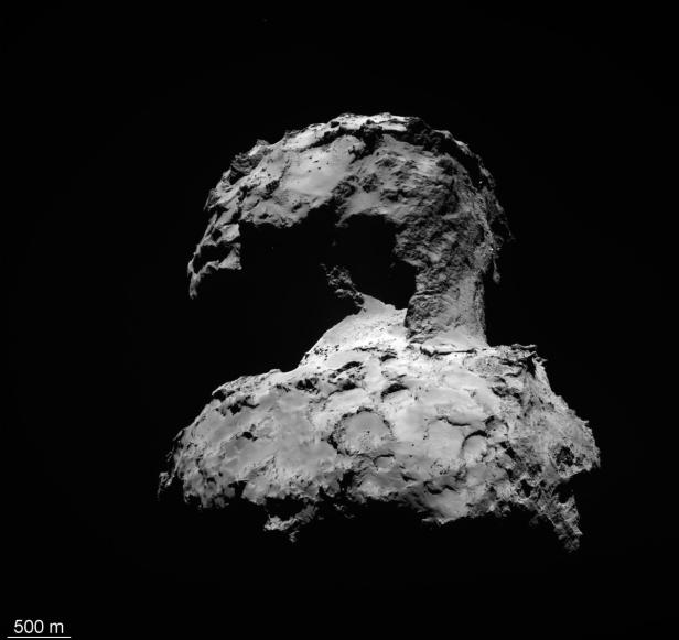 SPACE COMET 67P CHURYUMOV GERASIMENKO