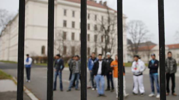 Im Erstaufnahmezentrum Traiskirchen saßen im Vorjahr viele junge Flüchtlinge fest. Es gab einen akuten Mangel an adäquaten Quartieren.