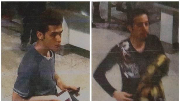 Die beiden Iraner reisten mit falschen Pässen: Links Mehrdad. Er hatte gestohlene österreichische Papiere.