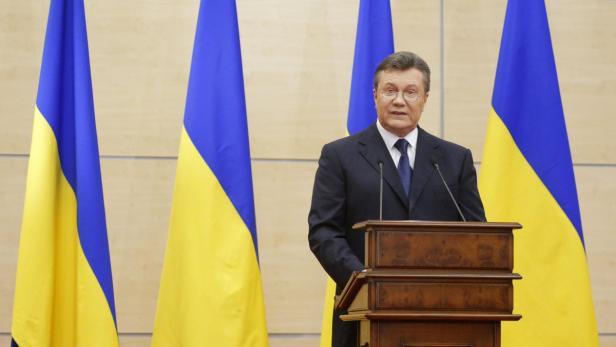 Viktor Janukowitsch meldete sich zu Wort
