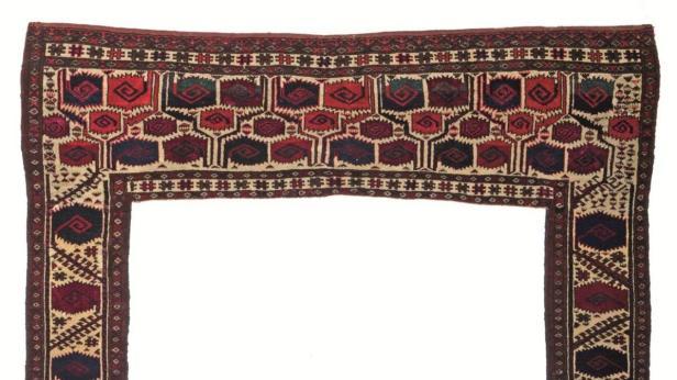 Geschätzter Wert dieses Stücks aus Turkmenistan: 50.000 bis 70.000 Euro
