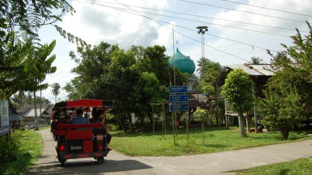 Thailand - Krabi - Koh Klang - Moschee Tuktuk…
