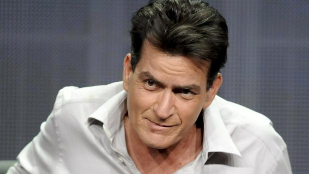 "Actor Charlie Sheen from the FX show ""Anger Manage"
