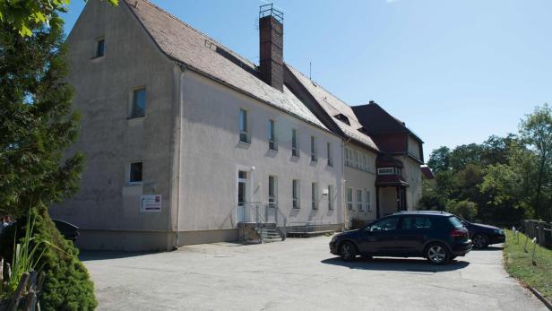 Das Flüchtlingsheim in Bautzen.