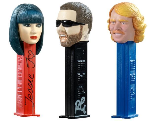Popmusikerin Jessie J, der Schauspieler Ricky Gervais und Keith Lemon, das fiktive Alter Ego des englischen Unterhalters Leigh Francis