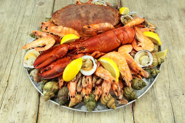 Bildnummer: 74553648  crustacean eisgekühlt esse…