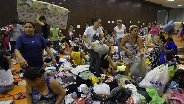 BRAZIL-MINING-DAM-ACCIDENT-EVACUEES