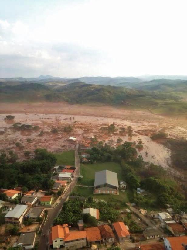 BRAZIL BURST DAM