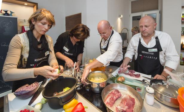 Kochseminar bei Art Cooking