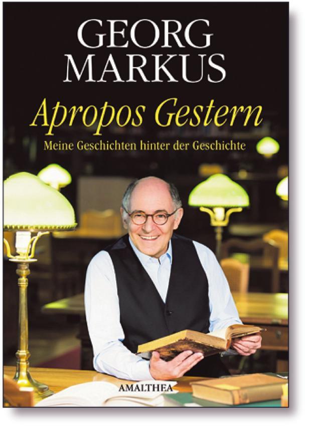 "Buch, Cover, Buchcover ""Apropos Gestern"" von Georg…"