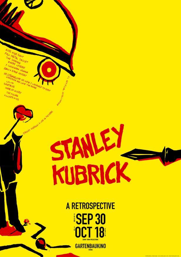 Das Kubrick-Plakat von Cesare Asaro überzeugte die Jury