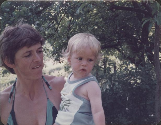 Vorbild: Mutter Eva Janko und Marc